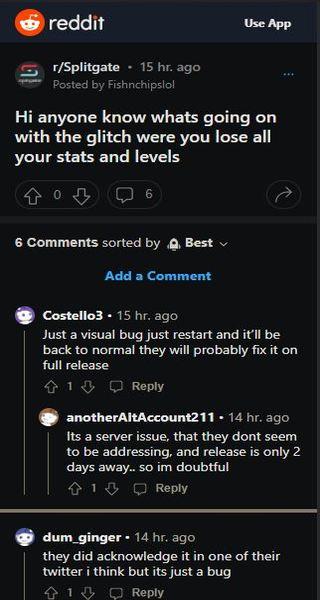 Visual-Bug-Server-Issue-Splitgate