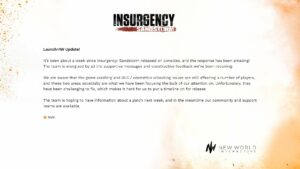 Insurgency issue where Gold Edition DLC gets locked