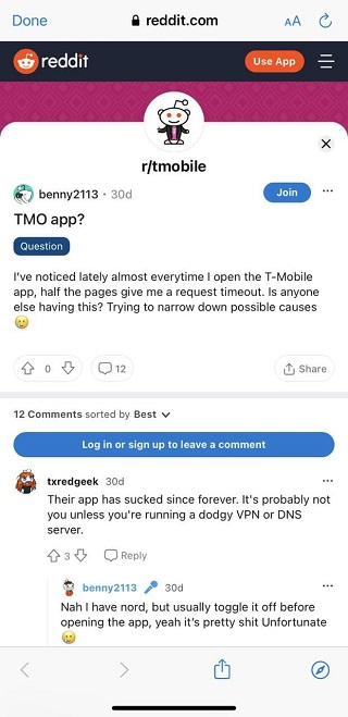 Tmobile-request-timeout-issue